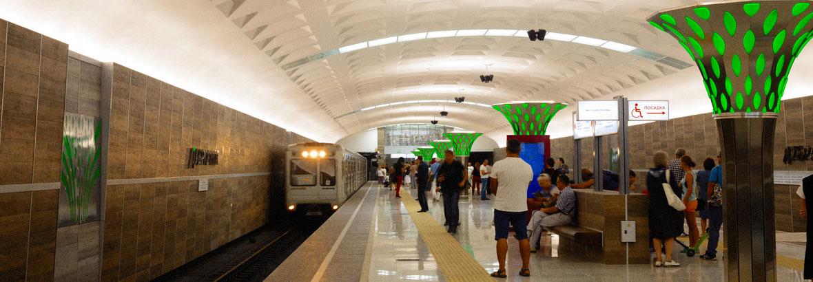 Станция Дубравная открыта!